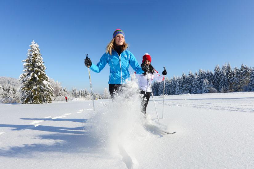 Winteraktivitäten - Schifahren - Vortuna Gesundheitsresort Bad Leonfelden