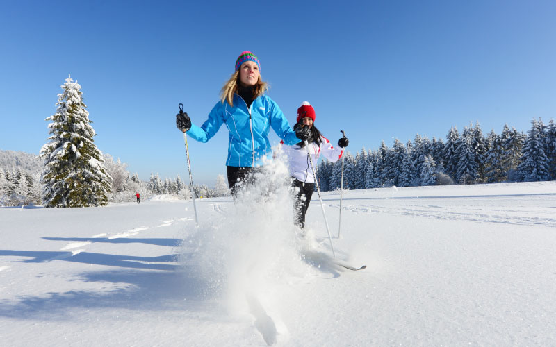 Wintersport / Schifahren Vortuna Gesundheitsresort Bad Leonfelden