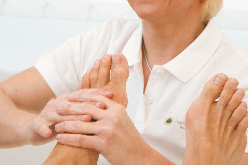 Fußmassage Vortuna Gesundheitsresort Bad Leonfelden