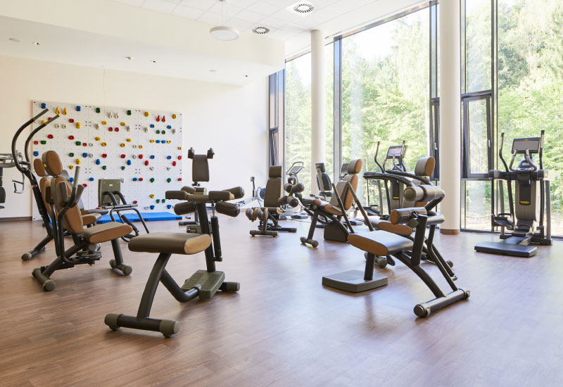 Bewegungstherapie im Fitnessstudio im Vortuna Gesundheitsresort Bad Leonfelden