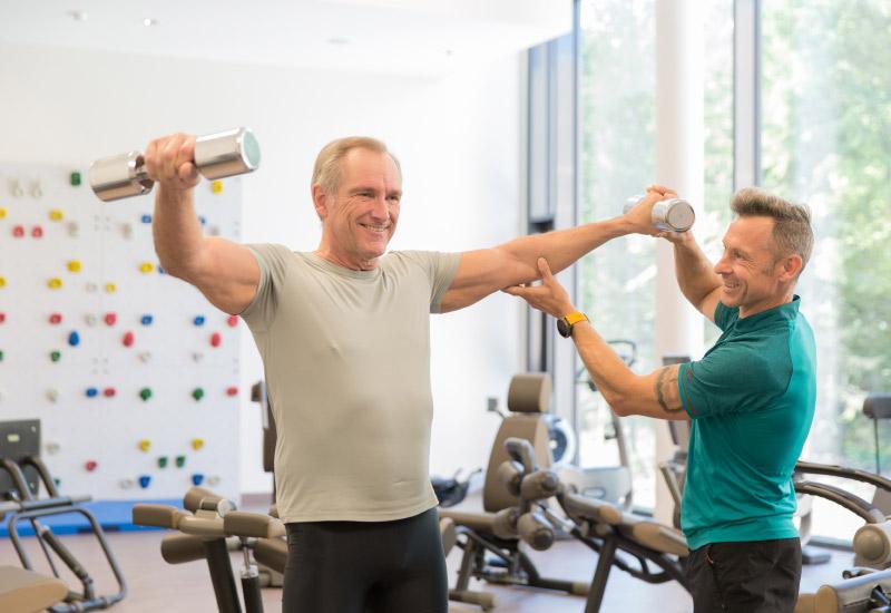 Bewegungstherapie - Vortuna Gesundheitsresort Bad Leonfelden