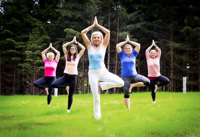 Yogawiese - Vortuna Gesundheitsresort Bad Leonfelden