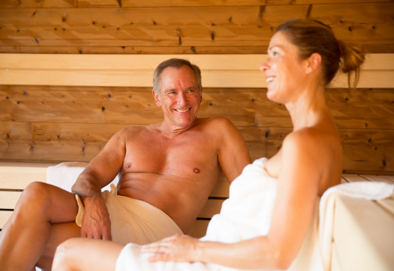 Sauna im Wellnesbereich - Vortuna Gesundheitsresort Bad Leonfelden